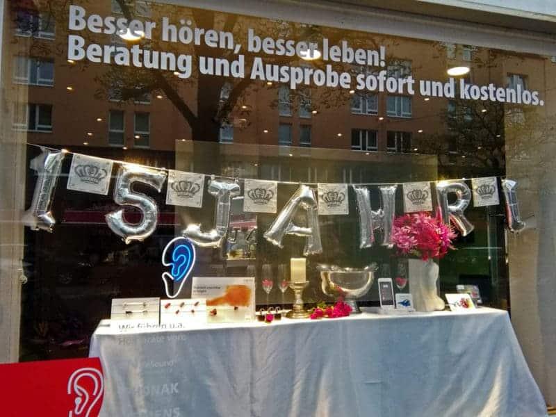 hörgeräte zölllner jubiläum hannover - Presse